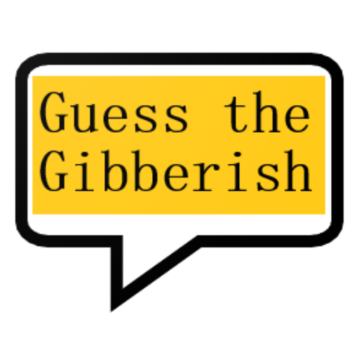 Guess the gibberish game – word games / challenge  Apk Mod latest