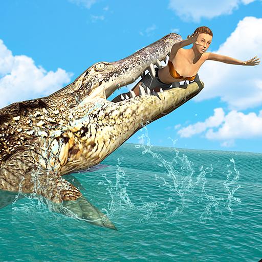 Hungry Crocodile Wild Hunt Simulation Game  Apk Pro Mod latest