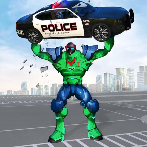 Incredible Monster Robot Hero Crime Shooting Game  Apk Mod latest