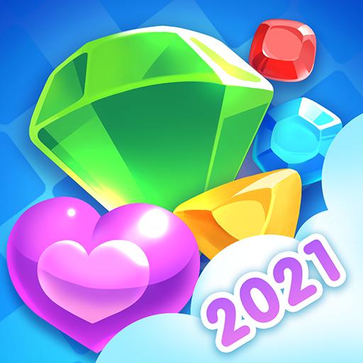 Jewel Blast Dragon Match 3 Puzzle  1.22.6 Apk Mod (unlimited money) Download latest