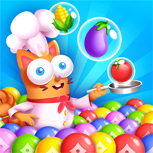 Kitten Games – Bubble Shooter Cooking Game Apk Mod latest