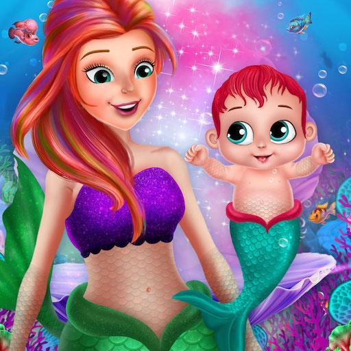 Little Mermaid Baby Care Ocean World  Apk Pro Mod latest