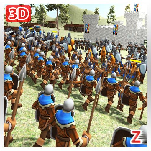 Medieval Wars: Hundred Years War 3D  Apk Mod latest
