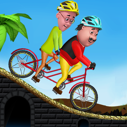 Motu Patlu Cycling Adventure  Apk Mod latest