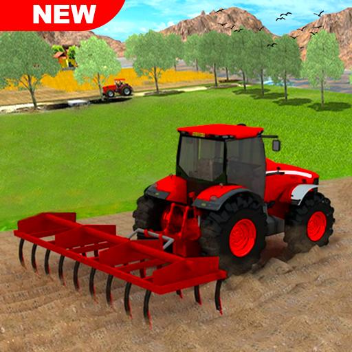New Tractor Farming 2021: Free Farming Games 2021  Apk Mod latest
