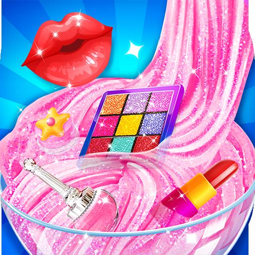 Pink Lipstick Makeup Slime Apk Mod latest