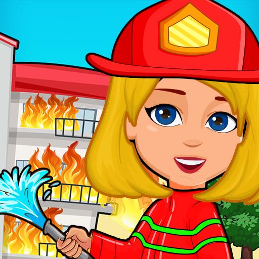 Pretend Play My Firestation Town  : Rescue Fireman  Apk Mod latest