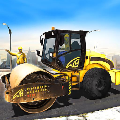 Road Construction Games 2021: Building Games 2021  Apk Mod latest