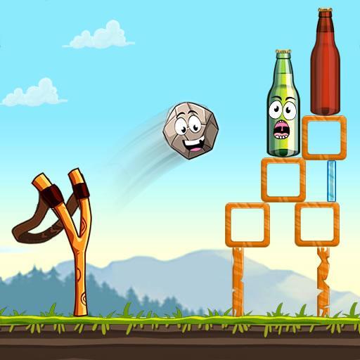 Slingshot Shooting Games: Bottle Shoot Free Games 2.0.066 Apk Mod (unlimited money) Download latest