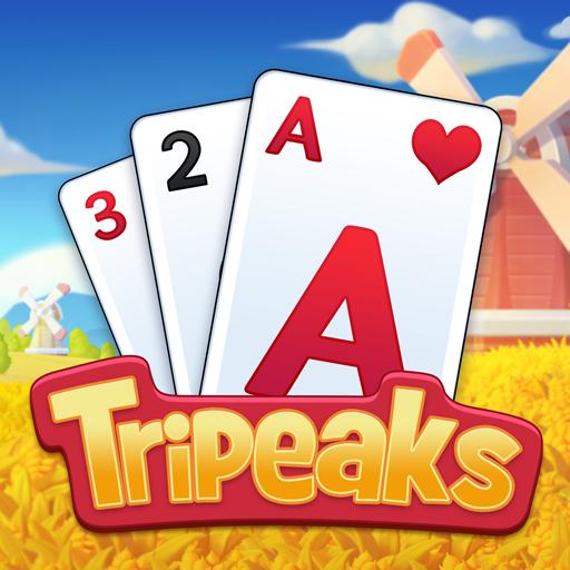 Solitaire Farm : Classic Tripeaks Card Games 1.2.0 Apk Mod (unlimited money) Download latest