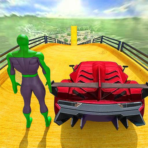 Superhero Car Stunts – Racing Car Games  Apk Pro Mod latest