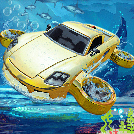 Underwater Flying Car Game  Apk Mod latest