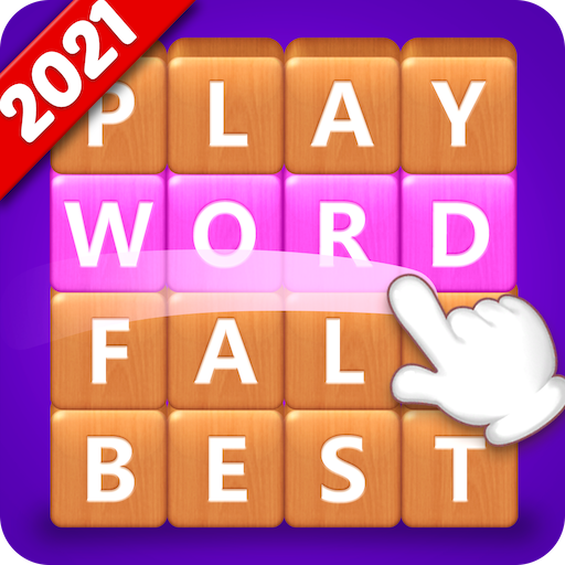 Word Fall – Brain training search word puzzle game Apk Mod latest