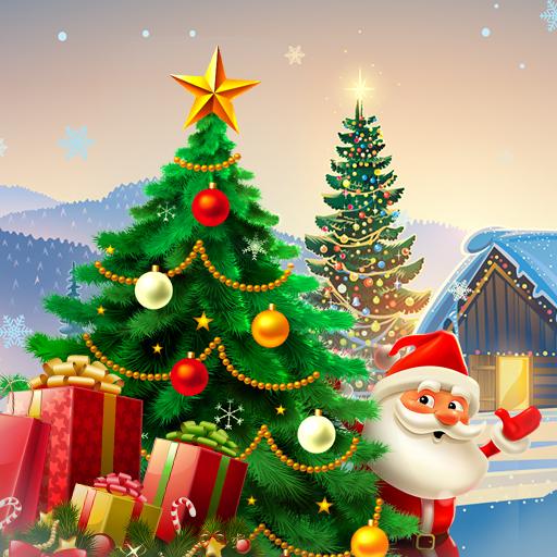 Christmas Hidden Object: Xmas Tree Magic  Apk Pro Mod latest