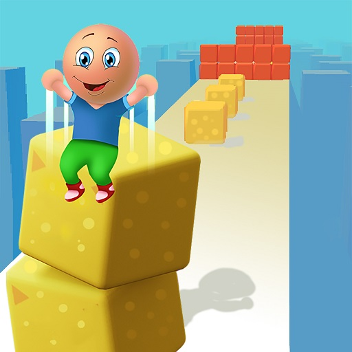 Cube Stack 3d: Fun Passing over Blocks and Surfing  Apk Mod latest