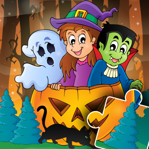 Halloween Puzzle for kids & toddlers 🎃  Apk Mod latest