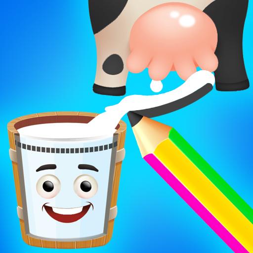 Happy Cow – Draw Line Puzzle  Apk Mod latest