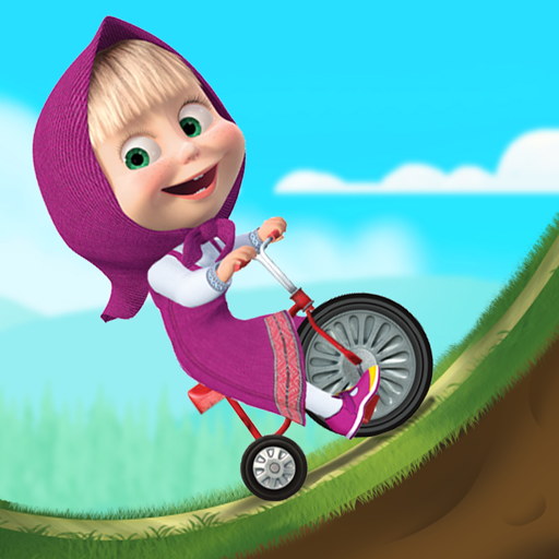 Masha and the Bear: Climb Racing and Car Games  Apk Mod (unlimited money) Download latest