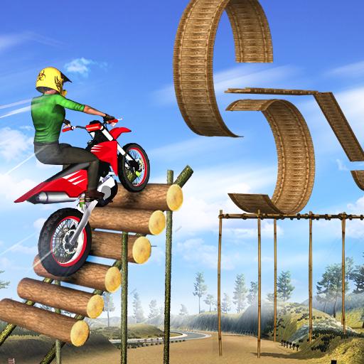 Mega Ramp Bike Stunt Games – Stunt Bike Racing 3D  Apk Mod latest