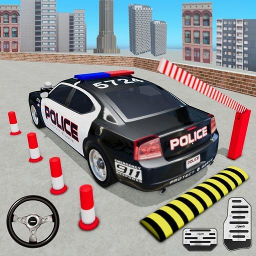 Police Car Parking Simulator 2020 : Free Car Games Apk Mod latest