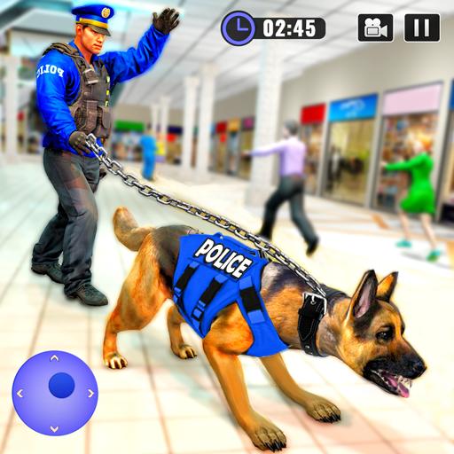US Police Dog Shopping Mall Crime Chase 2021  Apk Pro Mod latest