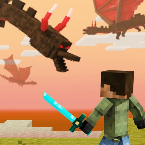 Battle Craft – 3D Pixel World Apk Pro Mod latest