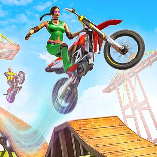 Bike Stunt 3D Moto Racing Games: Bike Race Free Apk Pro Mod latest