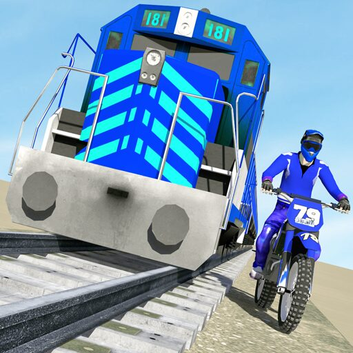 Bike vs. Train – Top Speed Train Race Challenge  Apk Pro Mod latest