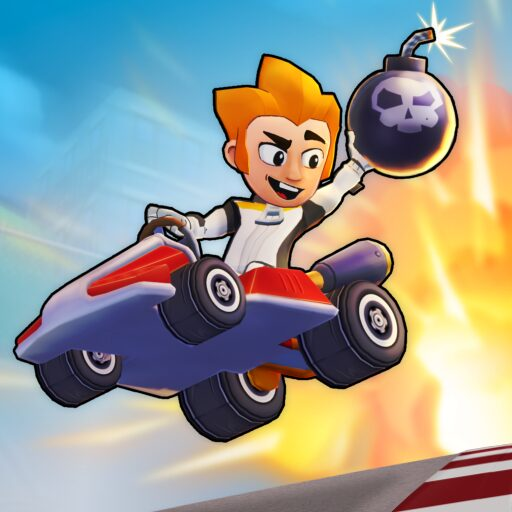 Boom Karts – Multiplayer Kart Racing  Apk Mod (unlimited money) Download latest