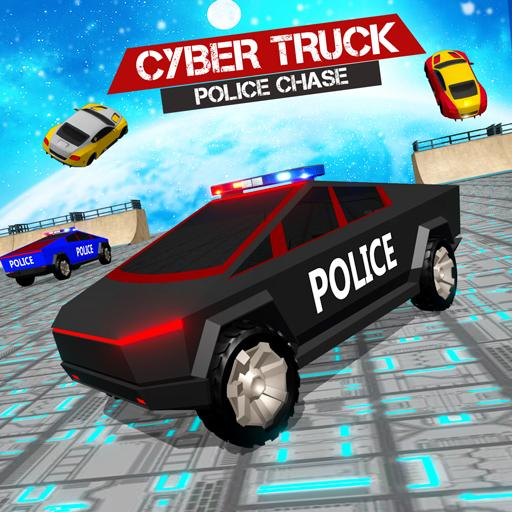 Border Patrol Cyber Truck Police Chase: Cop Games  Apk Mod (unlimited money) Download latest