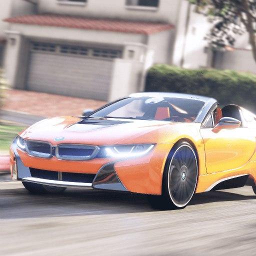 Driver BMW I8 Night City  Apk Pro Mod latest