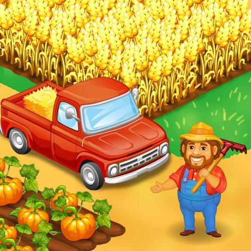 Farm Town: Happy farming Day & food farm game City  Apk Pro Mod latest