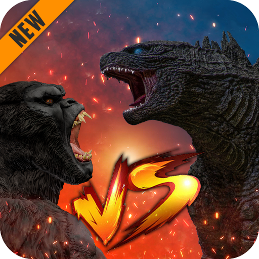Godzilla & Kong 2021: Angry Monster Fighting Games  4 Apk Mod (unlimited money) Download latest