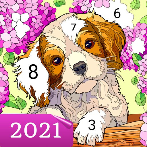 Happy Canvas™ – Color by Number Book 2.1.2 Apk Mod (unlimited money) Download latest