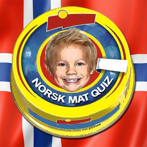 Norsk Mat Quiz: Gjett Kjente Matvarer fra Butikken  Apk Pro Mod latest