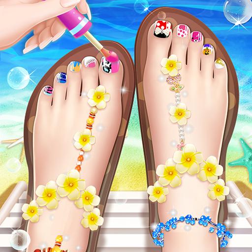 💅Princess Nail Makeup Salon2 – Beautiful Toenail 2.9.5052 Apk Mod (unlimited money) Download latest