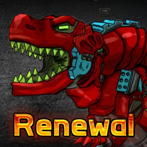 T-Rex Red – Combine! Dino Robot : Dinosaur games  Apk Mod (unlimited money) Download latest