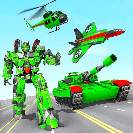 Tank Robot Transform Wars Multi Robot Game 2.3.1 Apk Mod (unlimited money) Download latest