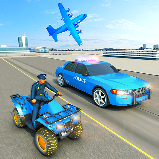 USA Police Car Transporter Games: Airplane Games Apk Mod (unlimited money) Download latest