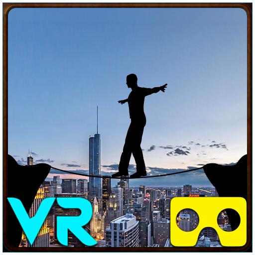 VR City View Rope Crossing – VR Box App Apk Pro Mod latest
