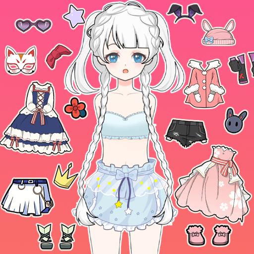 Vlinder Princess2:doll dress up games,style avatar Apk Mod (unlimited money) Download latest