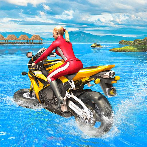 Water Surfer Racing In Moto  Apk Pro Mod latest