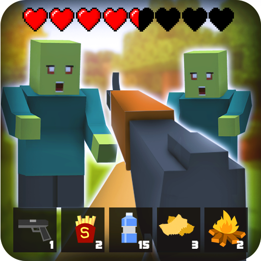 Zombie Craft Survival 3D: Free Shooting Game Apk Mod (unlimited money) Download latest