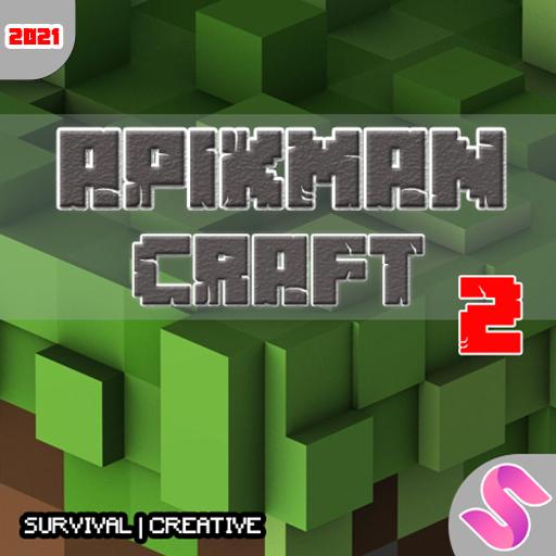 Apikman Craft 2 : Multicraft World craft buliding 7.0.0 Apk Mod (unlimited money) Download latest