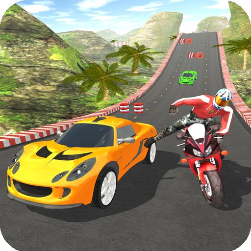 Car vs Bike Racing 5.0.8 Apk Mod (unlimited money) Download latest