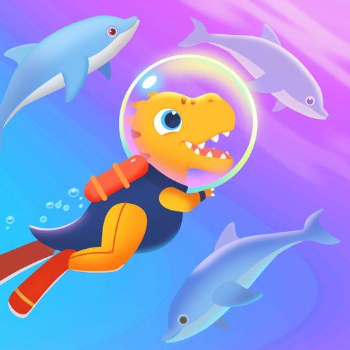 Dinosaur Aqua Adventure – Ocean Games for kids 1.0.3 Apk Pro Mod latest