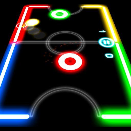 Glow Hockey 1.4.0 Apk Mod (unlimited money) Download latest