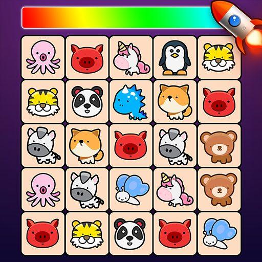 Match Animal- Free Tile master&Match Brain Game 2.2 Apk Mod (unlimited money) Download latest
