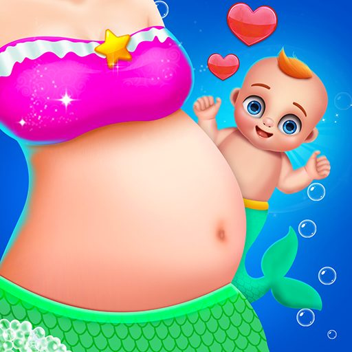 Mermaid Mom & Newborn – Babysitter Game 1.0.1 Apk Pro Mod latest