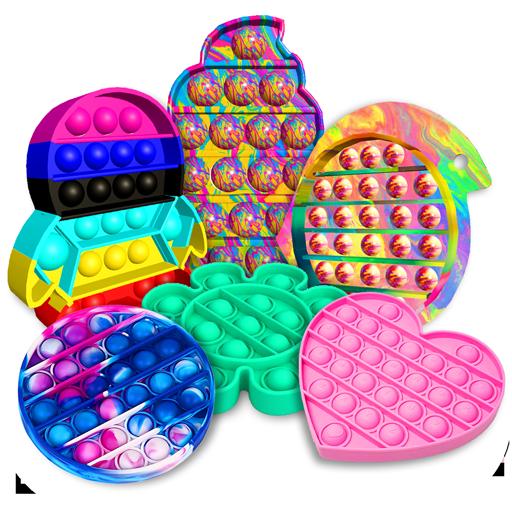 Pop it fidget toy 2! DIY calming asmr popers game 1.0.6 Apk Pro Mod latest
